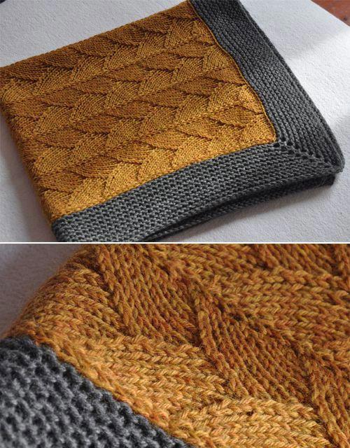 Brickstreet Blanket – Knitting Pattern