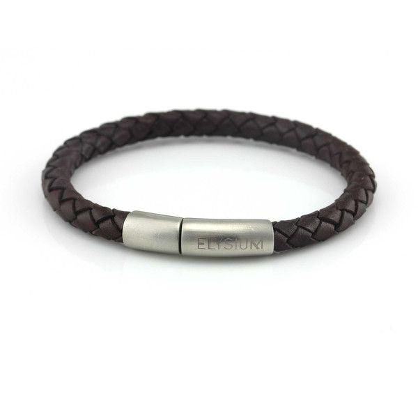 Magnetic Braided Leather Bracelet