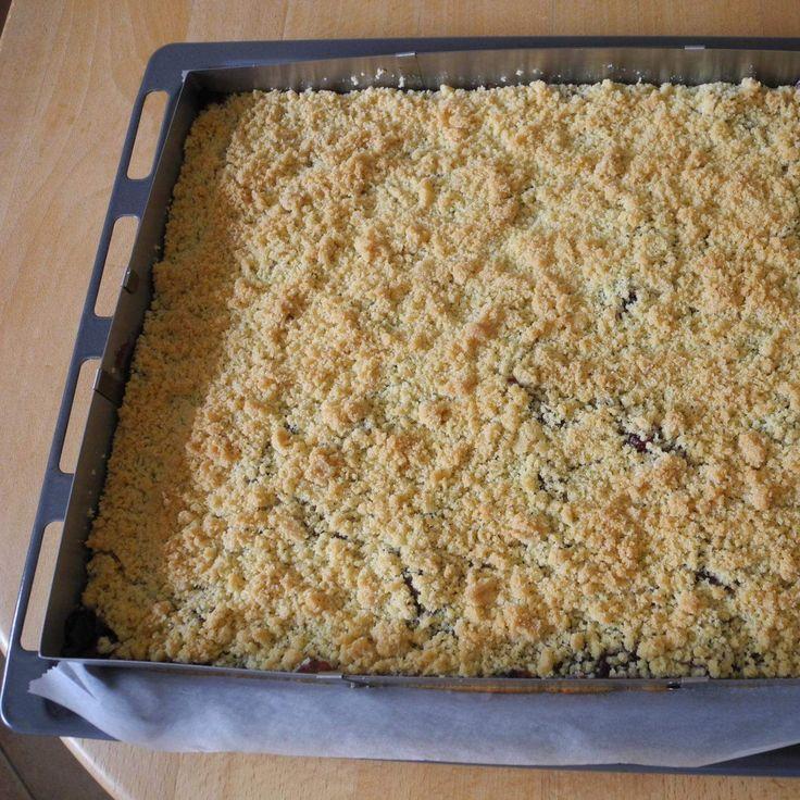 Kirsch-Streuselkuchen, wie vom Bäcker