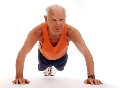 Sporten op oude leeftijd heeft zin!