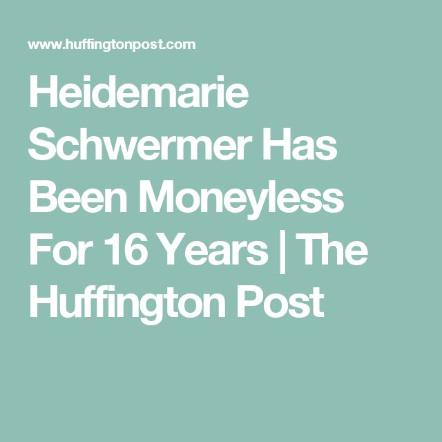 Heidemarie Schwermer Has Been Moneyless For 16 Years | The Huffington Post