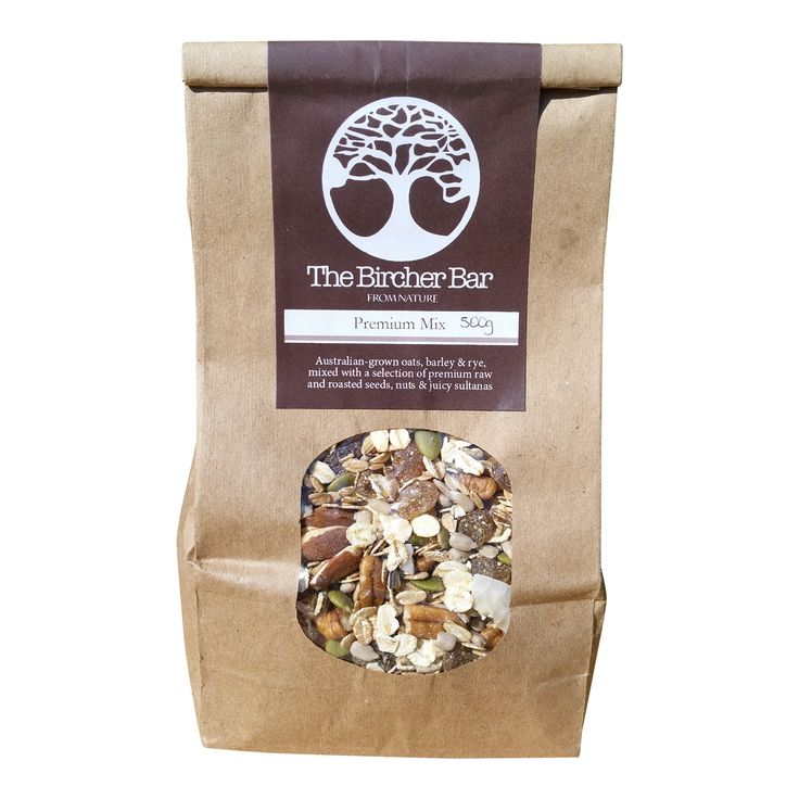 Premium Mix.........1KG of our delicious Premium Mix muesli - Free Shipping!  Australian-grown oats, barley & rye, mixed with a selection of premium raw and roasted seeds, nuts & juicy sultanas.  Hand-packaged in sustainable satchels, our all-natural, low sugar, fibre-rich & nutrient dense muesli is the perfect way to start your morning!