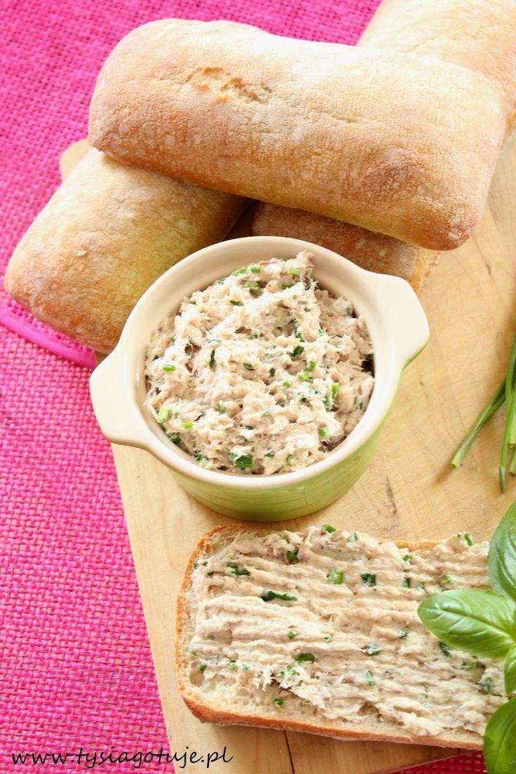 Pasta z wędzonej makreli | Tysia Gotuje blog kulinarny