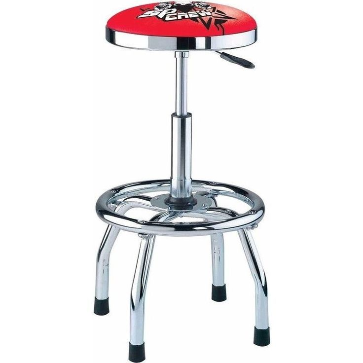 Pneumatic Garage Workshop Swivel Stool in Red | Buy Stools u0026 Creepers  sc 1 st  Pinterest & The 25+ best Garage stools ideas on Pinterest | Stool makeover My ... islam-shia.org