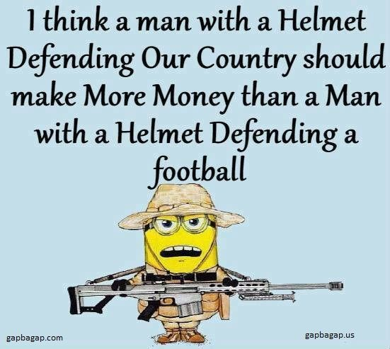 Well Said Quotes About Country vs. Soccer By #Minions