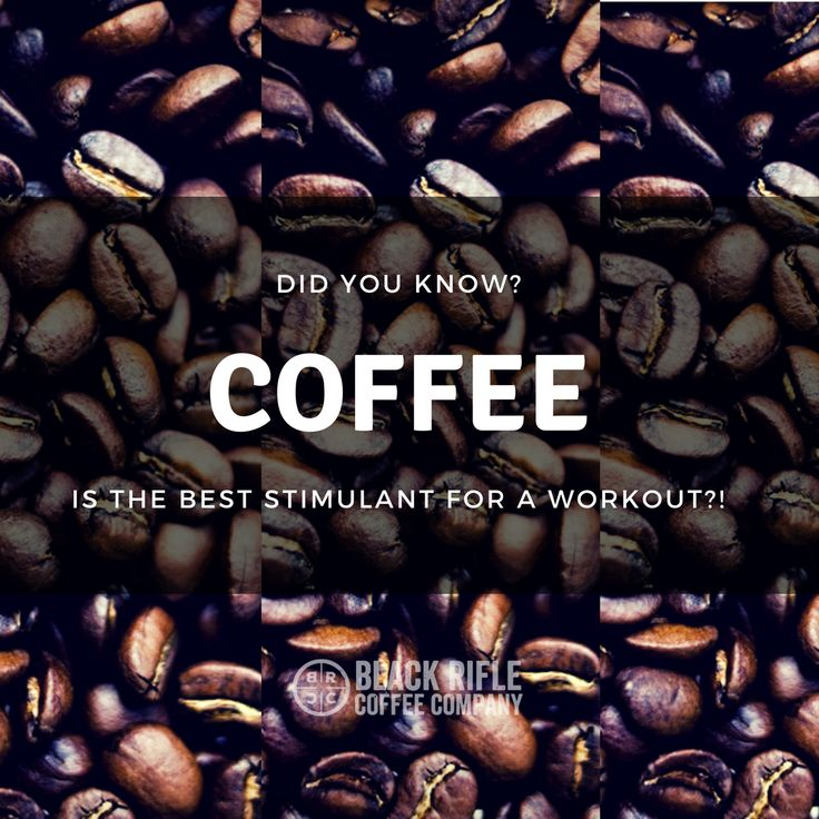 BLACK RIFLE COFFEE - Did you know? Coffee is a great way to get a boost before your workout! Keep your goals on track with a big cup of Black Rifle Coffee black coffee!
