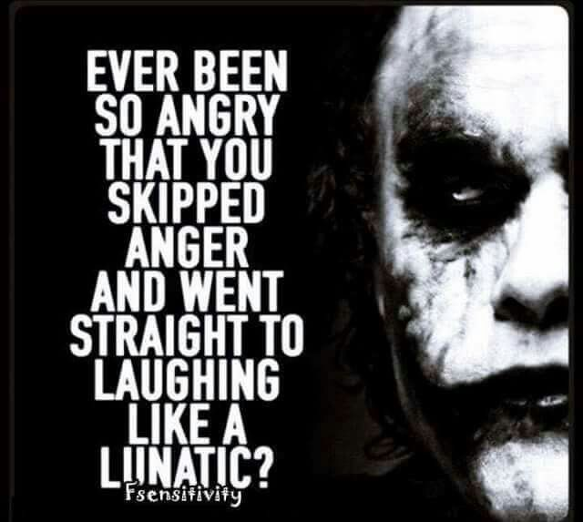 The Joker is straight up bad ass