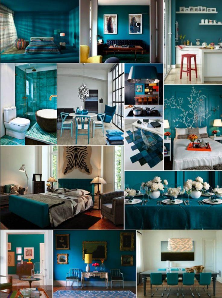 Amei esse azul