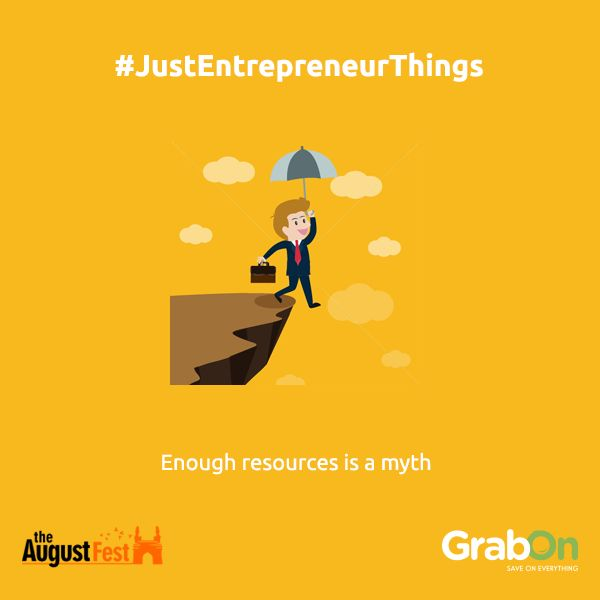 Because there are some things that money can't buy. Whatsay TheAugustFest? #StartUpProblems #startups #startuplife
