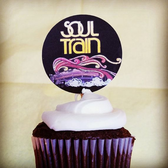 Soul Train Party Cupcake Toppers Soul Train Party Supplies