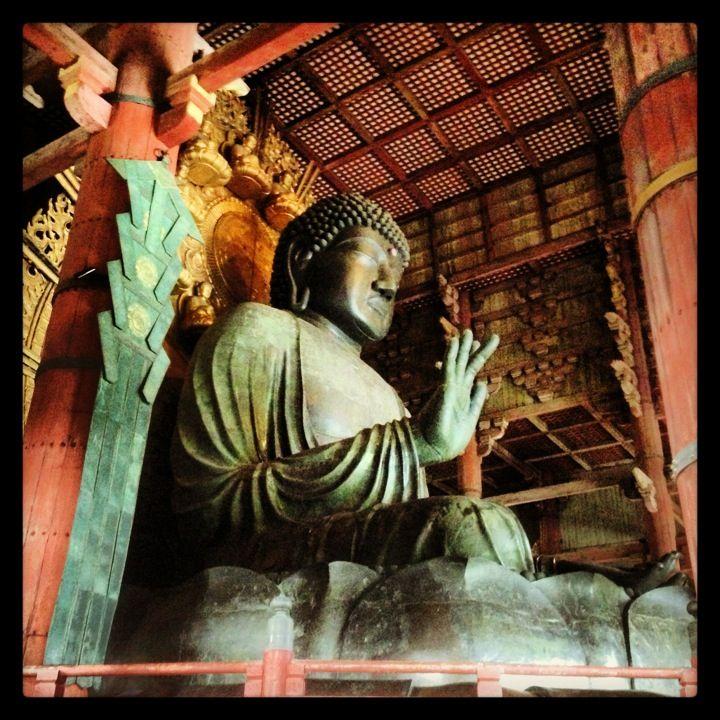 東大寺 大仏殿 (Todai-ji Daibutsu-den) en Nara, 奈良県