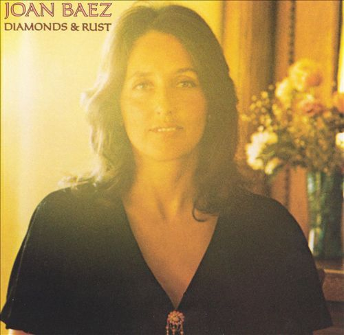 Joan Baez – Diamonds & Rust (1975) – Joan Baez moved away from folk music with this wonderful album. It contains 11 great tracks, 3 written by Baez, and others written  by Stevie Wonder, Jackson Browne, Janis Ian, Bob Dylan, and others. My favorite tracks: Diamonds & Rust (a masterpiece about her relationship with Dylan)*Fountain Of Sorrow*Simple Twist Of Fate*Blue Sky*Hello In There*Jesse*Winds Of The Old Days*more. I enjoyed this sublime album on vinyl today, 2/17/2015. Rating: 95%.