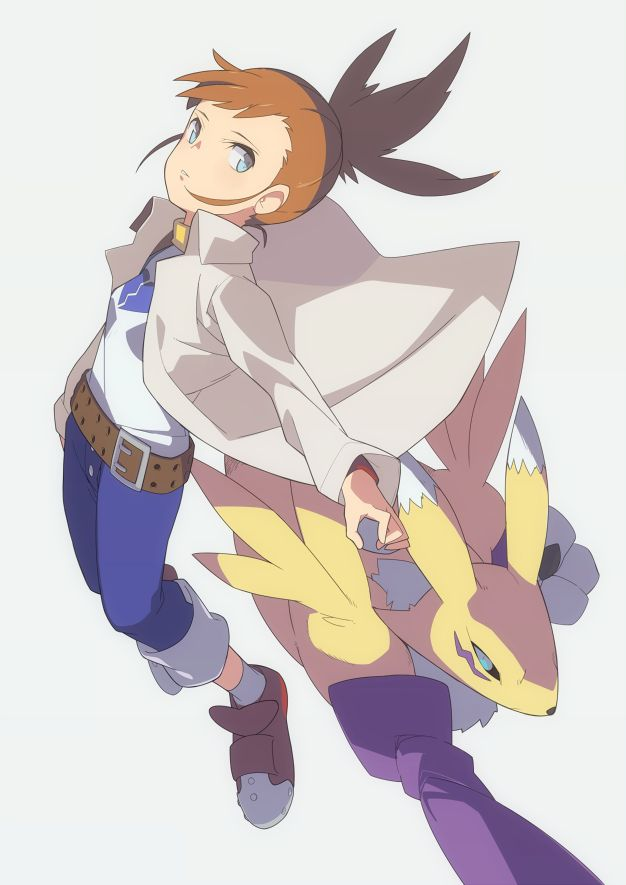No matter how many Digimon characters I love, my heart always goes back to Rika. SHe was rutheless and cold until she found her friends (And got a cutie too ;>), but she still is kickbutt. Now THAT'S how you make a female character.