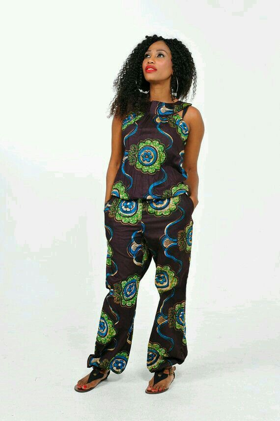 African Prints # Ankara Jumpsuit | AFRICAN PRINTS U0026 AFRICAN INSPIRED LOOKS (FASHION) | Pinterest ...