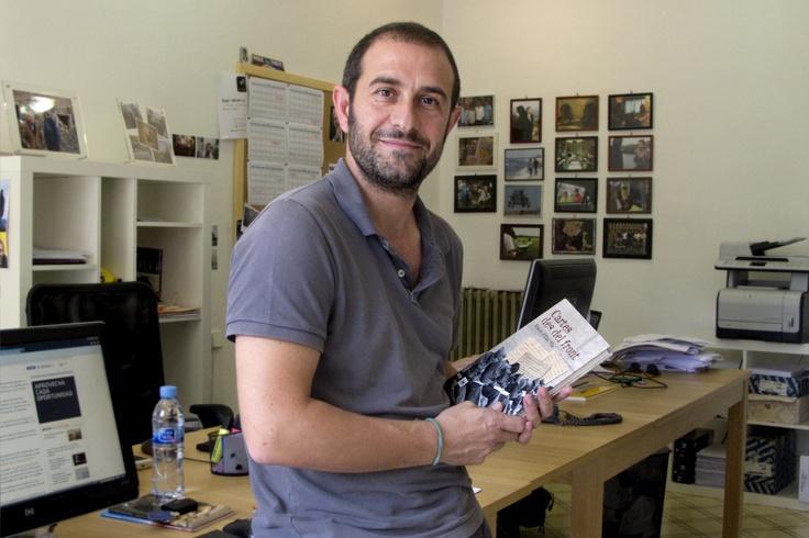 """Eloi Vila i el seu últim llibre """"Cartes des del front"""", un emocionant relat de les històries humanes durant la Guerra Civil Espanyola"""