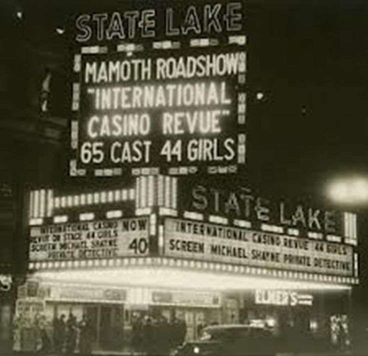 Mamoth (sic) Roadshow, State And Lake Theater, 1940