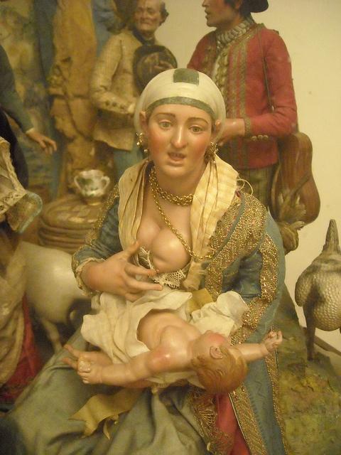 All sizes | Figure for neapolitan crib 18th century - Naples, San Martino Museum, via Flickr.