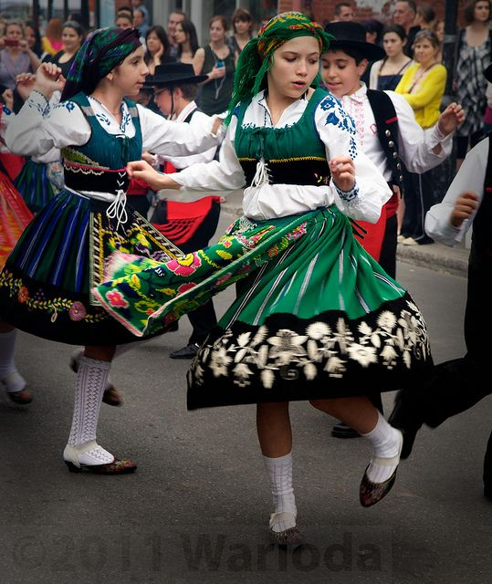 Viana - #Portugal #Traditional #Costume by Warioda, via Flickr