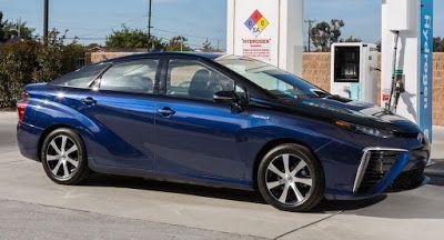 2017 Toyota Mirai Brennstoffzellen-EINZELVERKÄUFE für $57.500 fügt neue Farbe Fuel Cell Hybrids Hydrogen New Cars Prices Toyota Toyota Mirai