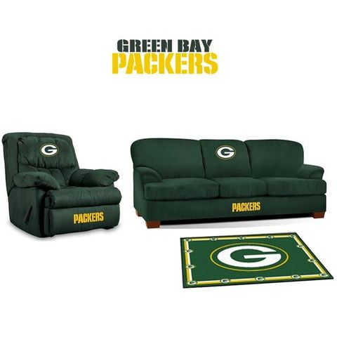 [[start Tab]] Description The Green Bay Packers NFL All Star Fan Cave Set  Is Made Especially For The Big And Tall Fan. It Includes The Big Daddy  Rocker ...