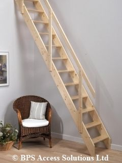Deluxe Space Saver Staircase suits floor to upper floor heights of up to 2.83m