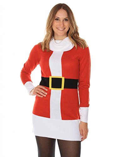 Socially Conveyed via WeLikedThis.co.uk - The UK's Finest Products -   Women's Christmas Jumper Dress - Cute Santa Dress by Tipsy Elves http://welikedthis.co.uk/womens-christmas-jumper-dress-cute-santa-dress-by-tipsy-elves