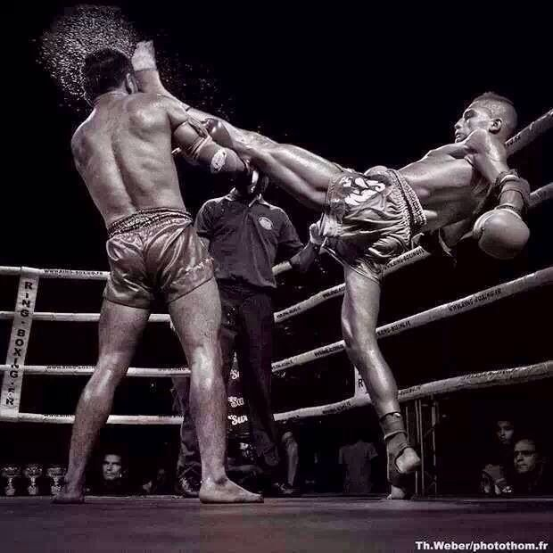 Push kick!