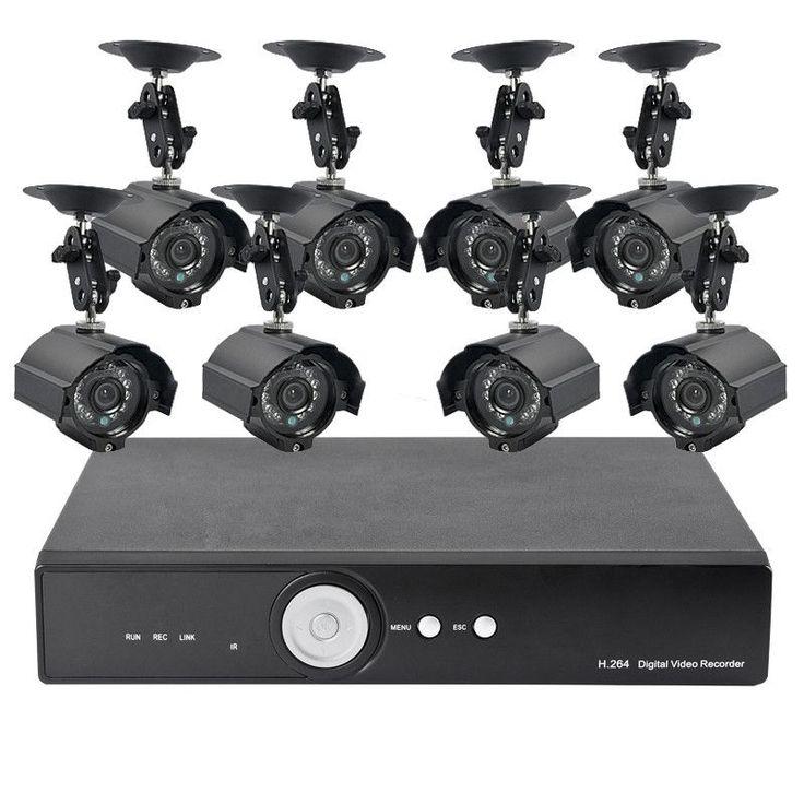 Surveillance Kit w/ 8 Camera + 1TB DVR