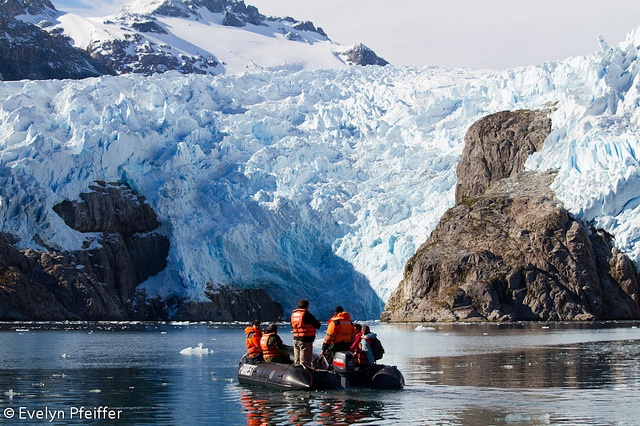 Patagonia: Santa Inés Glacier, Chile. Photo by Evelyn Pfeiffer.