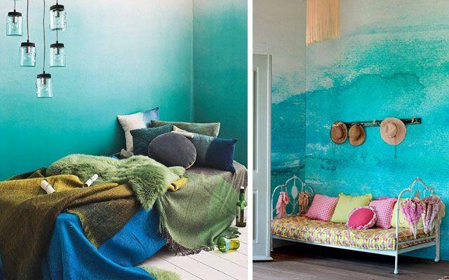 17 mejores ideas sobre paredes de pintura de imitaci n en for Decorar paredes con pintura
