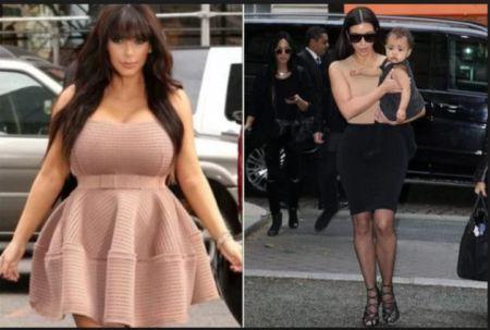 As 3 atitudes de Kim Kardashian para perder peso