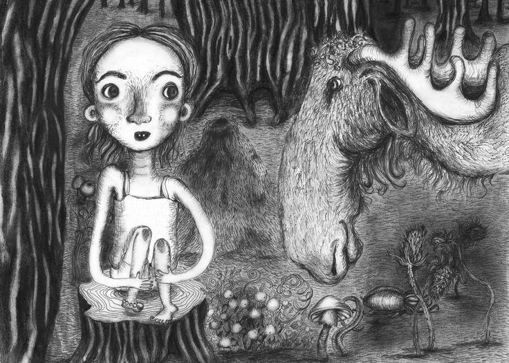 """Illustration til første del af bogserien """"Tove tænker"""" Den her """"Dobbelt så gammel"""" og er skrevet af forfatter/writer Mette Vedsø. Henvender sig til børn i alderen 8-10 år"""