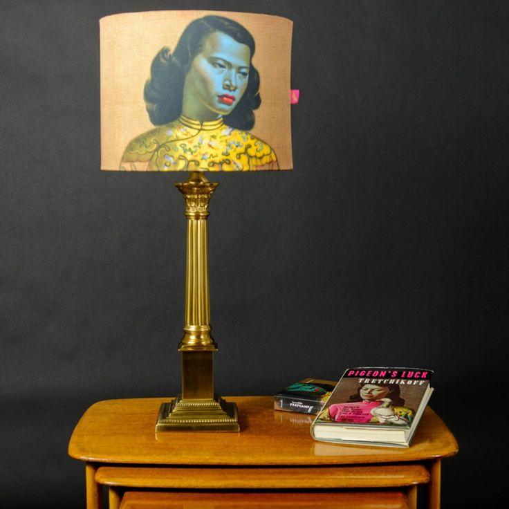 I Love Lamp - Tretchikoff Tretchikoff Chinese Girl Lampshade