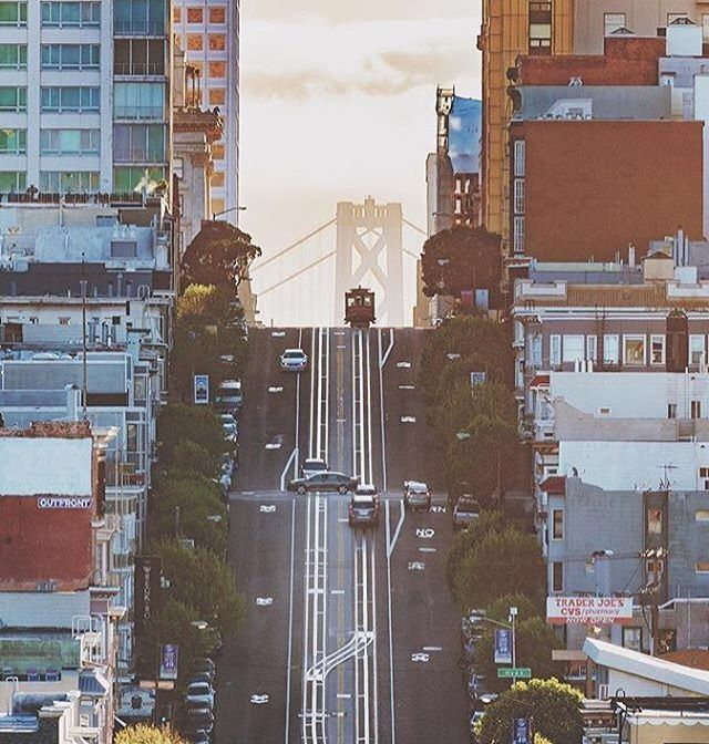 Iconic Streets of San Francisco #sanfrancisco #sf