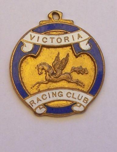 VICTORIA-RACING-CLUB-MEMBERSHIP-MEDALLION-NO-186-1929-1930