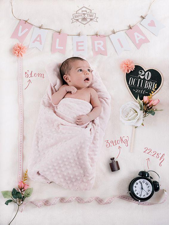 VALERIA Happy Time Fotografía FOTO-PRESENTACIÓN de recién nacidos.