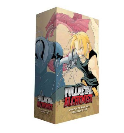 7. One can dream. Fullmetal Alchemist complete manga box set volumes 1-27. (The Amazon version might be cheaper?). A$201.68