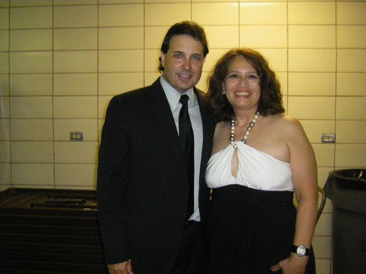 Tejano Singer Gary Hobbs And I At The Tejano Music Awards