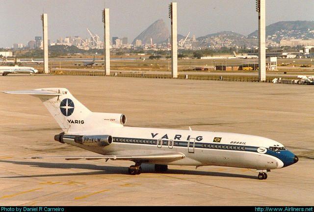 VARIG - Boeing 727