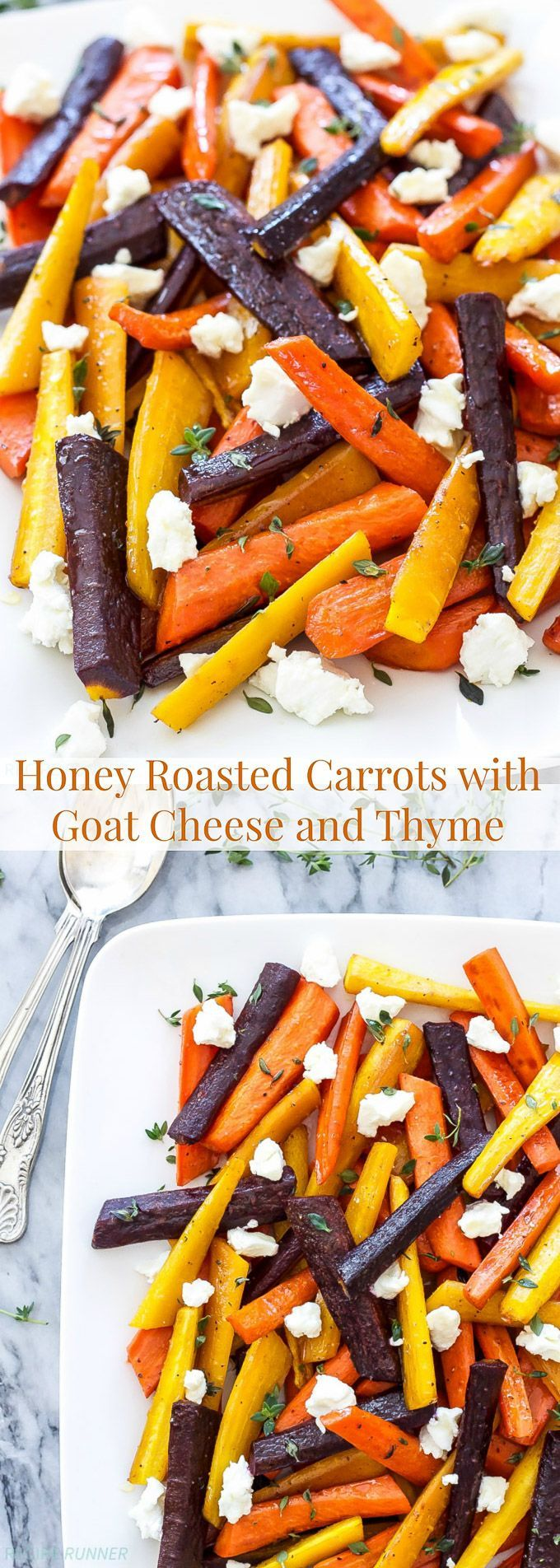 Carrots get a big boost of flavor in this easy to make side dish! Colorful, sweet, savory and perfect for this year's Thanksgiving table!