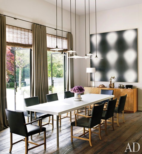 Lightinh Contemporary Dining Room By Steven Volpe Design And Butler Armsden Architects In San Francisco California