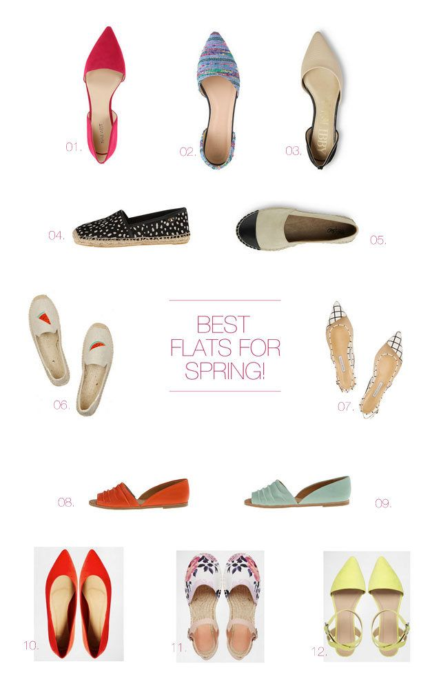 The Best Flats for Spring!