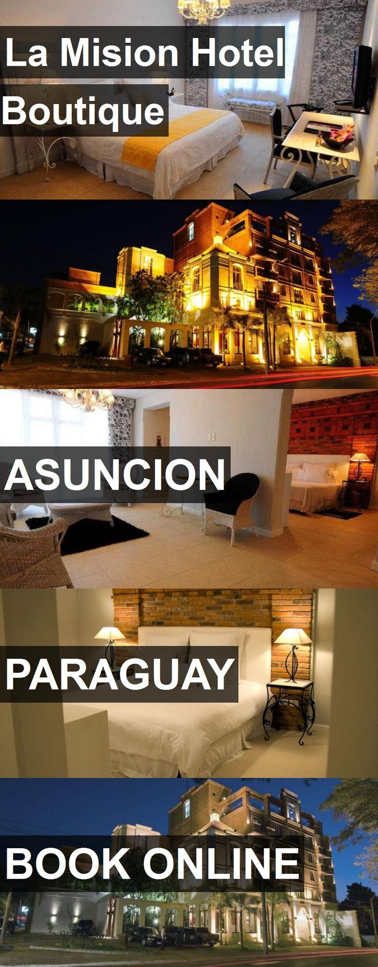 La Mision Hotel Boutique in Asuncion, Paraguay. For more information, photos, reviews and best prices please follow the link. #Paraguay #Asuncion #travel #vacation #hotel