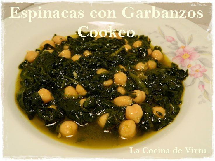 Espinacas con Garbanzo en Cookeo | La cocina de Virtu | Cookeo ...