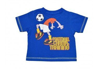 Focis póló 9-12 hónapos gyerekekre.  http://www.ruhakpalotaja.hu/webshop/focis-polo-p14221.html
