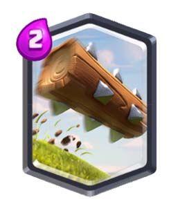 Clash Royale El tronco