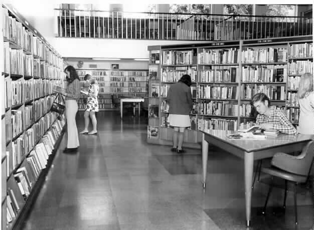 Malvern City Library, 1959.
