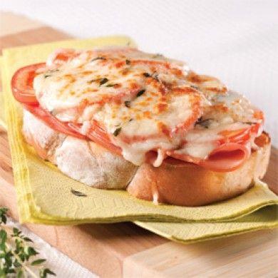 Croque-monsieur jambon-tomates - Soupers de semaine - Recettes 5-15 - Recettes express 5/15 - Pratico Pratique