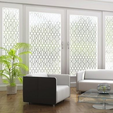 Avalon Etched Glass - Window Film - Bob Vila