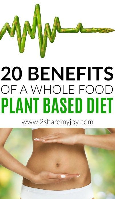 20 benefits of a whole food plant based diet backed up by studies. Choosing a vegan diet to prevent diseases like heart disease, high blood pressure, acne, eczema, diabetes, cancer, kidney stone, insulin resistance. A plant based diet will also help with weight loss, boosting your immune system and is by far the healthiest diet out there. The best part: you can get all the calcium, iron, magnesium, fiber, and protein you need on a whole food plant based diet! #wholefoodplantbased #vegandiet…